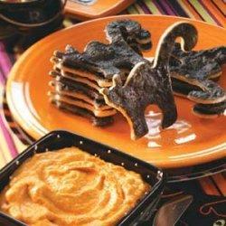 Black Cat Dippers with Pumpkin Pie Dip recipe