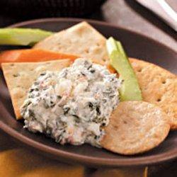Spinach & Crab Dip recipe