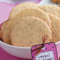 Tangy Lemon Poppy Seed Cookies recipe