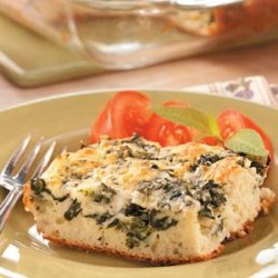Baked Spinach Supreme recipe