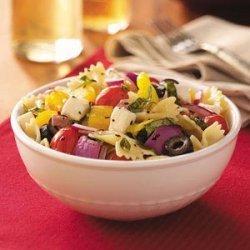 Italian Basil Pasta Salad recipe