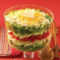 Mexican Layered Salad recipe