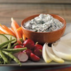 Cool and Creamy Spinach Dip recipe