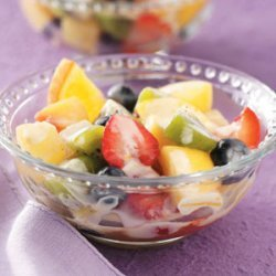 Fruit Salad with Lemon Dressing recipe