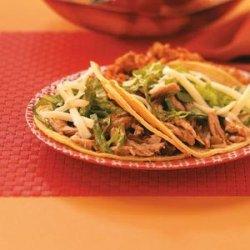 Baja Pork Tacos recipe