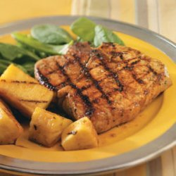 Teriyaki Pineapple & Pork Chops recipe