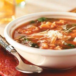 Spinach White Bean Soup recipe