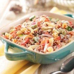 Black-Eyed Pea Pasta Salad recipe