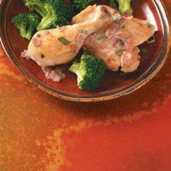 Prosciutto Chicken in Wine Sauce recipe