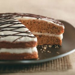 Makeover Two-Tone Spice Cake recipe