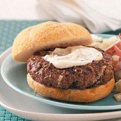Zeus Burgers for 2 recipe