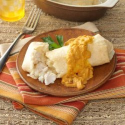Turkey Mashed Potato Chimis recipe