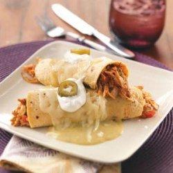 Turkey Enchiladas Verdes recipe