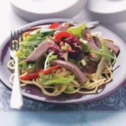 Thai Beef Pasta Salad recipe