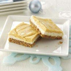 Swirled Pumpkin Cheesecake Bars recipe