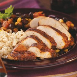 Black Bean Chicken with Rice recipe