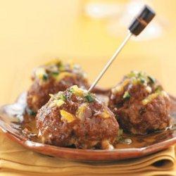 Tapas Meatballs with Orange Glaze recipe