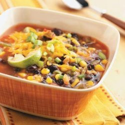 Bart's Black Bean Soup for Two recipe