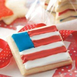 Sugar Star & Flag Cookies recipe