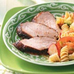 Grilled Spicy Pork Tenderloin recipe