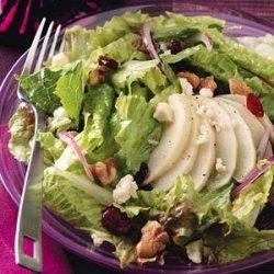 Roasted Apple & Candied Walnut Salad recipe