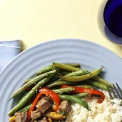 Savory Sesame Green Beans recipe