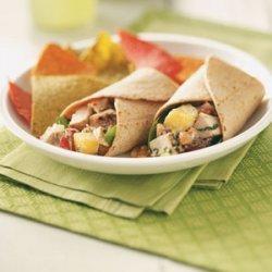 Grilled Chicken Salad Wraps recipe