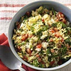 Orzo Vegetable Salad recipe