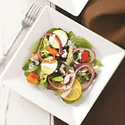 Grilled Vegetable Ranch Salad recipe