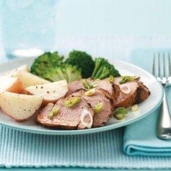 Grilled Teriyaki Pork Tenderloin recipe