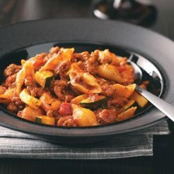 Italian Beef and Shells recipe