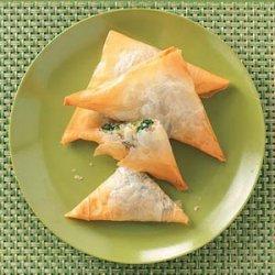 Spinach Cheese Triangles recipe