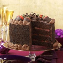 Fudge Fantasy Cake recipe