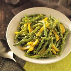 Green Beans in Yellow Pepper Butter recipe