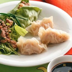 Steamed Pork and Shrimp Dumplings recipe