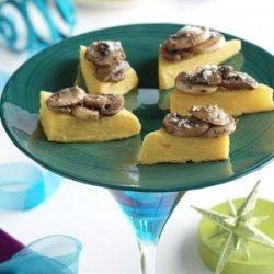 Polenta Mushroom Appetizers recipe