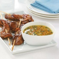 Chicken Skewers with Sweet & Spicy Marmalade recipe
