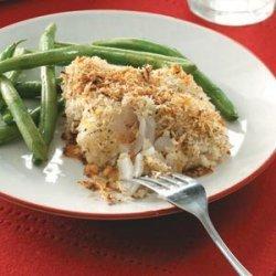 Crumb-Coated Cod Fillets recipe