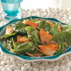 Glazed Salmon Salad recipe