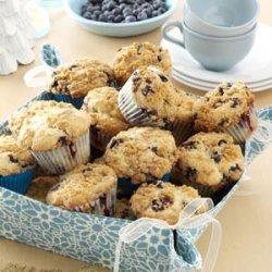 Lemon-Streusel Blueberry Muffins recipe