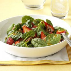 Strawberry Spinach Salad with Poppy Seed Dressing recipe