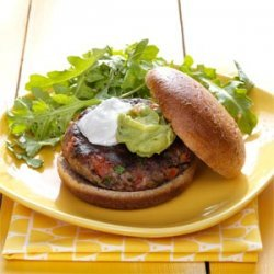 Salsa Black Bean Burgers recipe