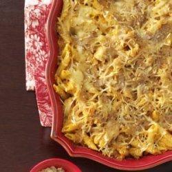 Buffalo Chicken Pasta Bake recipe