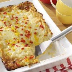 Cheese & Crab Brunch Bake recipe