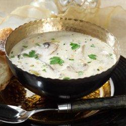 Homemade Cream of Mushroom Soup recipe