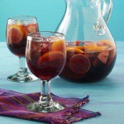 Topsy-Turvy Sangria recipe