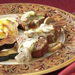 Peppered Pork with Asti Cream Sauce recipe