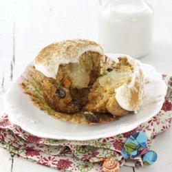 Carrot & Raisin Spice Cupcakes recipe