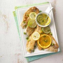 Tilapia with Citrus Sauce recipe