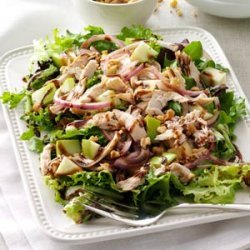 Chicken & Apple Salad with Greens recipe
